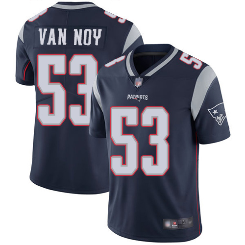 Wholesale New England Patriots Football 53 Vapor Limited Navy Blue Men Kyle Van Noy Home NFL Jersey