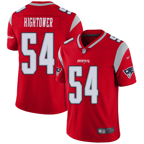 New England Patriots Football 54 Inverted Legend Limited Red Men Dont a Hightower NFL Jersey