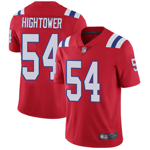 New England Patriots Football 54 Vapor Limited Red Men Dont a Hightower Alternate NFL Jersey
