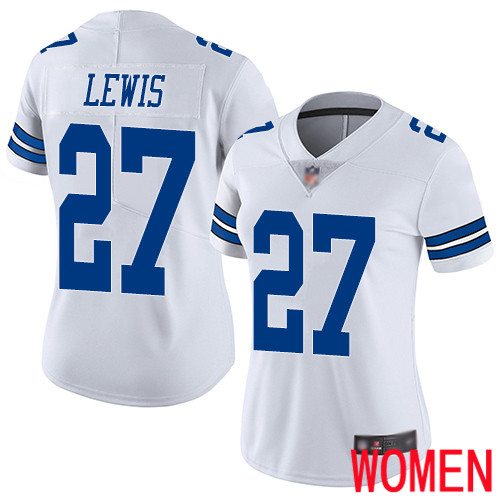 Women Dallas Cowboys Limited White Jourdan Lewis Road 27 Vapor Untouchable NFL Jersey