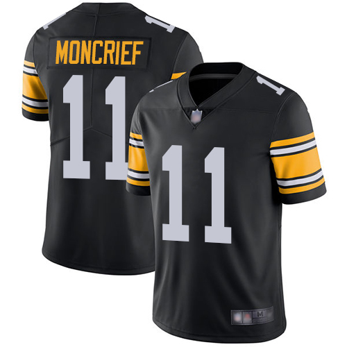 Youth Pittsburgh Steelers Football 11 Limited Black Donte Moncrief Alternate Vapor Untouchable Nike NFL Jersey