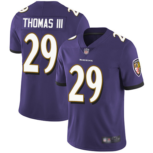 Baltimore Ravens Limited Purple Men Earl Thomas III Home Jersey NFL Football 29 Vapor Untouchable