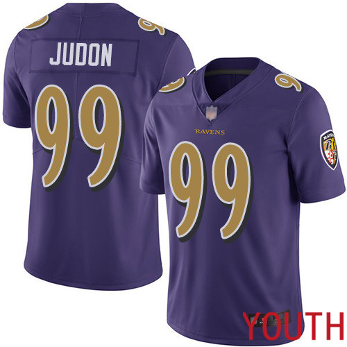 Baltimore Ravens Limited Purple Youth Matt Judon Jersey NFL Football 99 Rush Vapor Untouchable