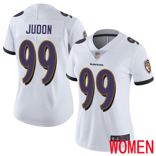 Baltimore Ravens Limited White Women Matt Judon Road Jersey NFL Football 99 Vapor Untouchable