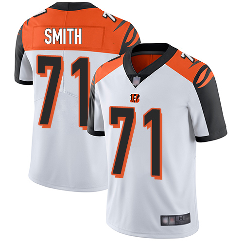 Cincinnati Bengals Limited White Men Andre Smith Road Jersey NFL Footballl 71 Vapor Untouchable