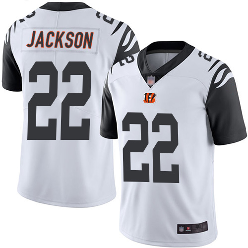 Cincinnati Bengals Limited White Men William Jackson Jersey NFL Footballl 22 Rush Vapor Untouchable