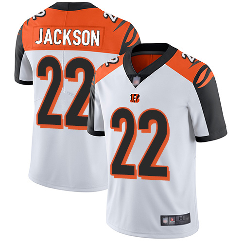 Cincinnati Bengals Limited White Men William Jackson Road Jersey NFL Footballl 22 Vapor Untouchable