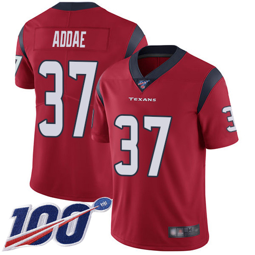 Houston Texans Limited Red Men Jahleel Addae Alternate Jersey NFL Football 37 100th Season Vapor Untouchable