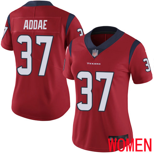 Houston Texans Limited Red Women Jahleel Addae Alternate Jersey NFL Football 37 Vapor Untouchable