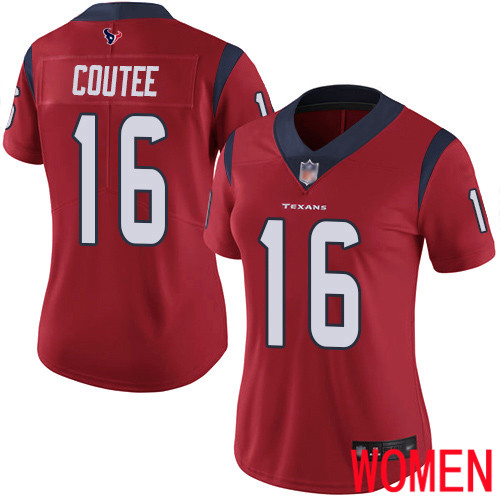 Houston Texans Limited Red Women Keke Coutee Alternate Jersey NFL Football 16 Vapor Untouchable