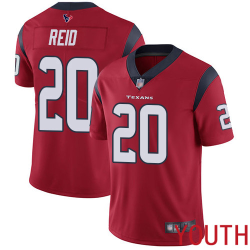 Houston Texans Limited Red Youth Justin Reid Alternate Jersey NFL Football 20 Vapor Untouchable