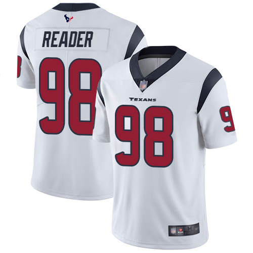 Houston Texans Limited White Men D J Reader Road Jersey NFL Football 98 Vapor Untouchable