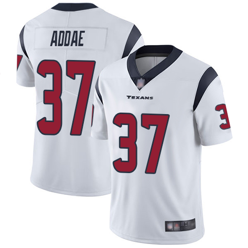 Houston Texans Limited White Men Jahleel Addae Road Jersey NFL Football 37 Vapor Untouchable