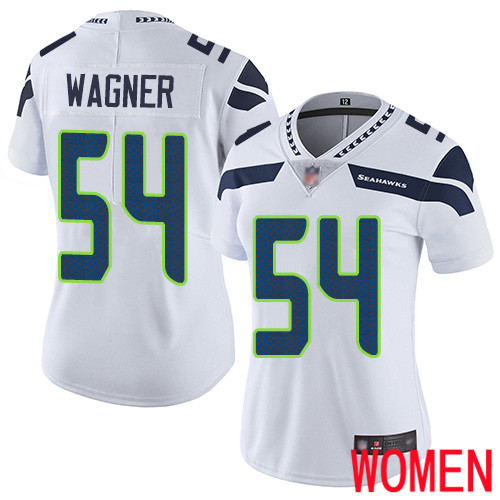 Seattle Seahawks Limited White Women Bobby Wagner Road Jersey NFL Football 54 Vapor Untouchable