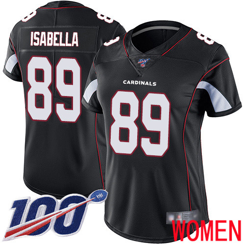 Arizona Cardinals Limited Black Women Andy Isabella Alternate Jersey NFL Football 89 100th Season Vapor Untouchable