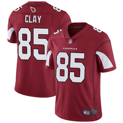 Arizona Cardinals Limited Red Men Charles Clay Home Jersey NFL Football 85 Vapor Untouchable