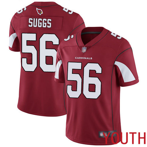 Arizona Cardinals Limited Red Youth Terrell Suggs Home Jersey NFL Football 56 Vapor Untouchable