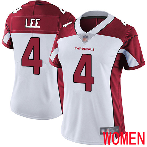Arizona Cardinals Limited White Women Andy Lee Road Jersey NFL Football 4 Vapor Untouchable