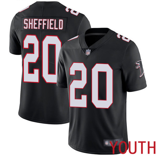 Atlanta Falcons Limited Black Youth Kendall Sheffield Alternate Jersey NFL Football 20 Vapor Untouchable