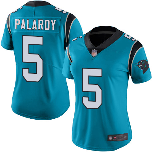 Carolina Panthers Limited Blue Women Michael Palardy Alternate Jersey NFL Football 5 Vapor Untouchable