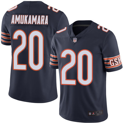 Chicago Bears Limited Navy Blue Men Prince Amukamara Home Jersey NFL Football 20 Vapor Untouchable