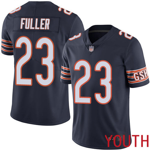 Chicago Bears Limited Navy Blue Youth Kyle Fuller Home Jersey NFL Football 23 Vapor Untouchable