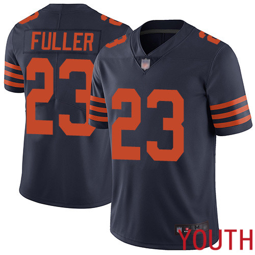 Chicago Bears Limited Navy Blue Youth Kyle Fuller Jersey NFL Football 23 Rush Vapor Untouchable