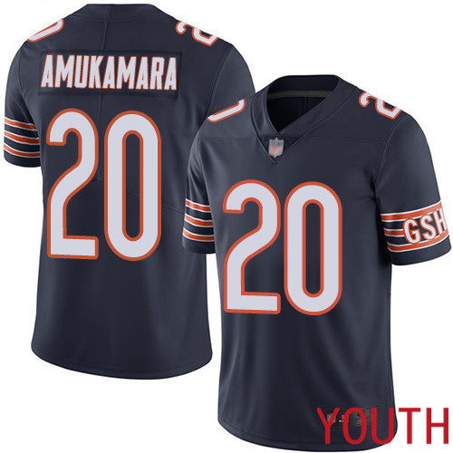 Chicago Bears Limited Navy Blue Youth Prince Amukamara Home Jersey NFL Football 20 Vapor Untouchable