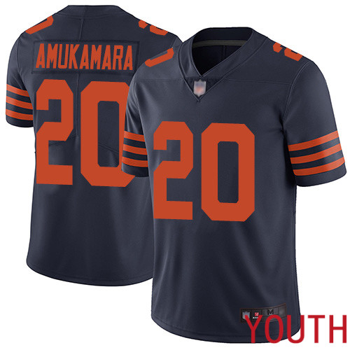 Chicago Bears Limited Navy Blue Youth Prince Amukamara Jersey NFL Football 20 Rush Vapor Untouchable