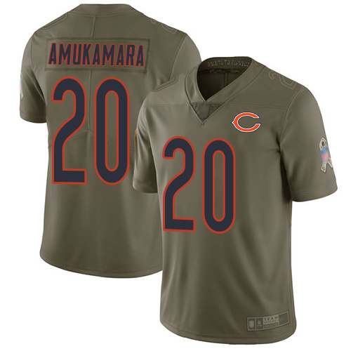 Chicago Bears Limited Olive Men Prince Amukamara Jersey NFL Football 20 2017 Salute to Service
