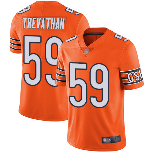 Chicago Bears Limited Orange Men Danny Trevathan Alternate Jersey NFL Football 59 Vapor Untouchable