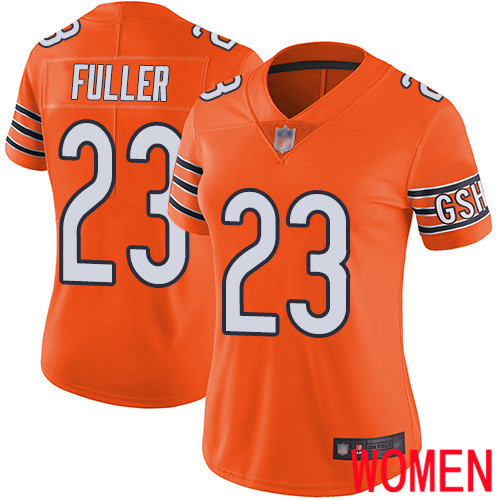 Chicago Bears Limited Orange Women Kyle Fuller Alternate Jersey NFL Football 23 Vapor Untouchable