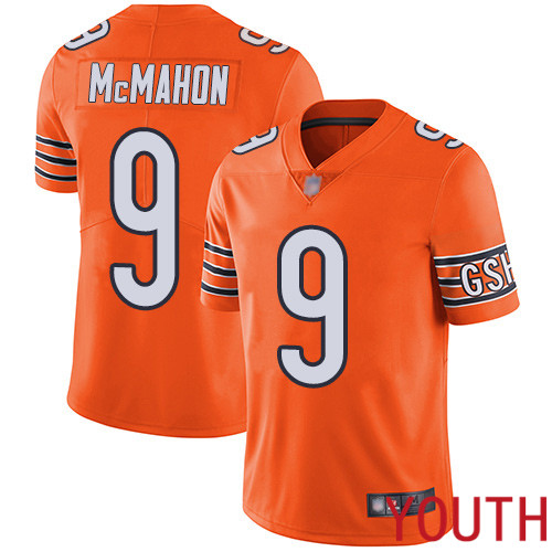 Chicago Bears Limited Orange Youth Jim McMahon Alternate Jersey NFL Football 9 Vapor Untouchable