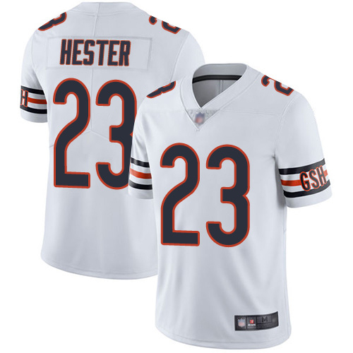 Chicago Bears Limited White Men Devin Hester Road Jersey NFL Football 23 Vapor Untouchable