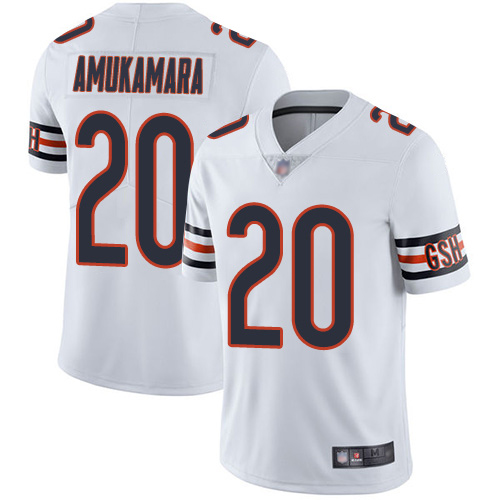 Chicago Bears Limited White Men Prince Amukamara Road Jersey NFL Football 20 Vapor Untouchable
