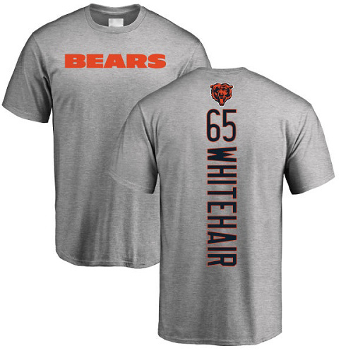 Chicago Bears Men Ash Cody Whitehair Backer NFL Football 65 T Shirt
