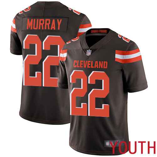Cleveland Browns Eric Murray Youth Brown Limited Jersey 22 NFL Football Home Vapor Untouchable