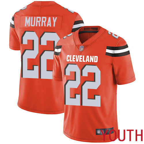 Cleveland Browns Eric Murray Youth Orange Limited Jersey 22 NFL Football Alternate Vapor Untouchable