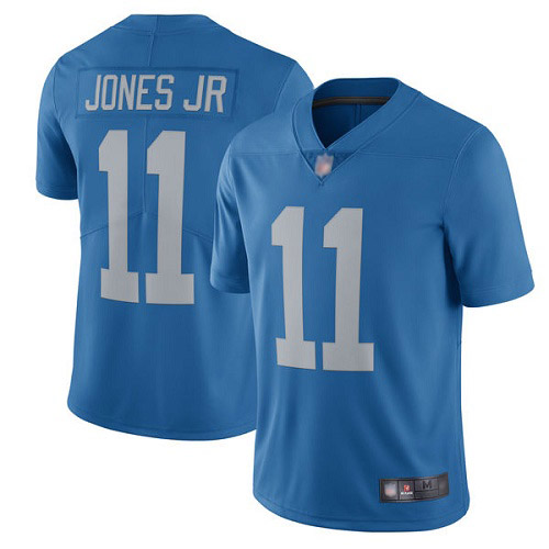Detroit Lions Limited Blue Men Marvin Jones Jr Alternate Jersey NFL Football 11 Vapor Untouchable