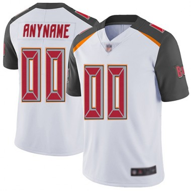 Football White Jersey Men Limited Customized Tampa Bay Buccaneers Road Vapor Untouchable