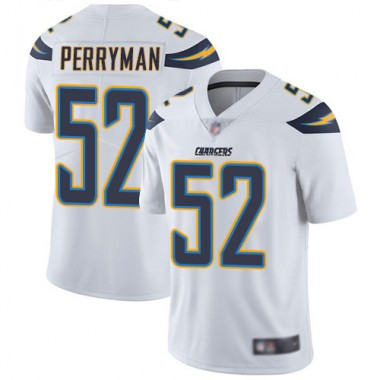 Los Angeles Chargers NFL Football Denzel Perryman White Jersey Youth Limited 52 Road Vapor Untouchable