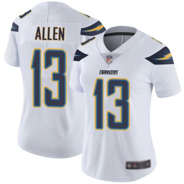 Los Angeles Chargers NFL Football Keenan Allen White Jersey Women Limited 13 Road Vapor Untouchable