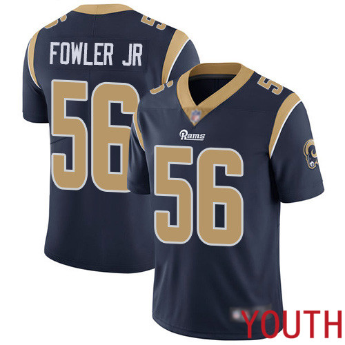 Los Angeles Rams Limited Navy Blue Youth Dante Fowler Jr Home Jersey NFL Football 56 Vapor Untouchable
