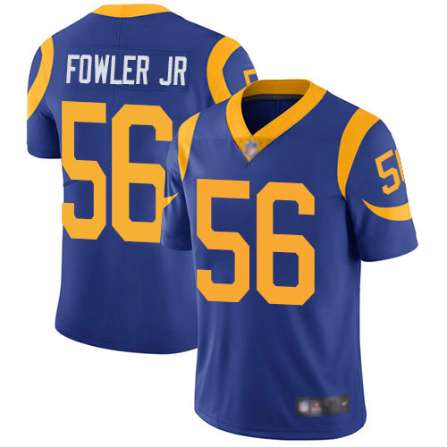 Los Angeles Rams Limited Royal Blue Men Dante Fowler Jr Alternate Jersey NFL Football 56 Vapor Untouchable