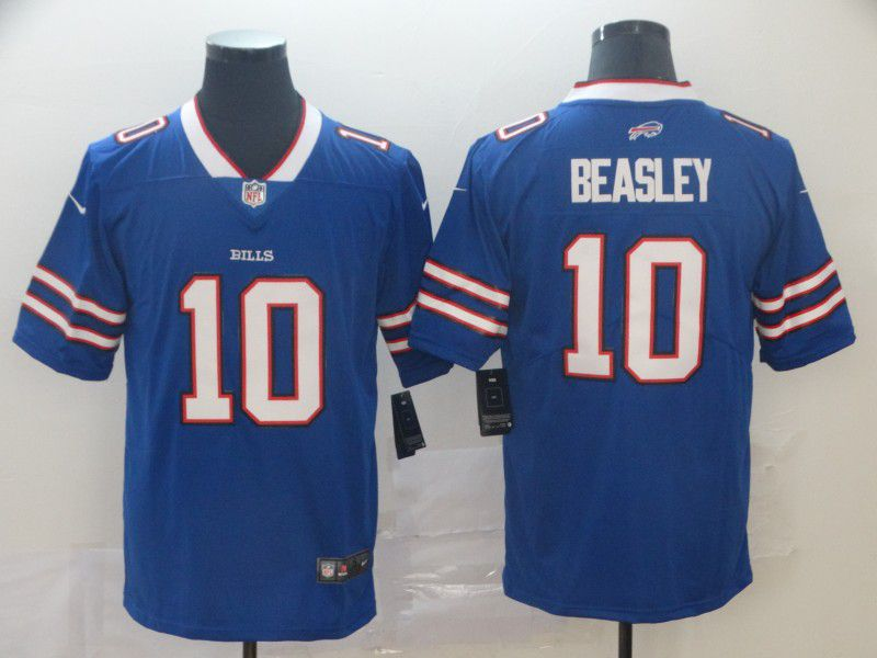 Men Buffalo Bills 10 Beasley Blue Nike Vapor Untouchable Limited Player NFL Jerseys
