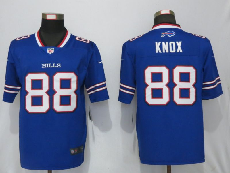 Men Buffalo Bills 88 Knox Blue Nike Vapor Untouchable Limited Playe NFL Jerseys