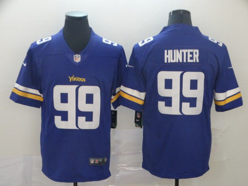 Men Minnesota Vikings 99 Hunter Purple Nike Vapor Untouchable Limited Player NFL Jerseys