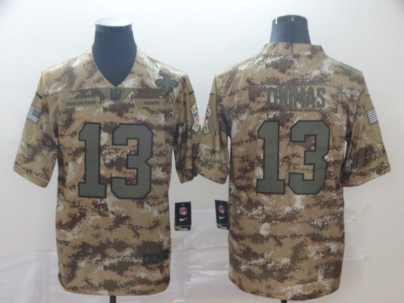 Men New Orleans Saints 13 Thomas Camo Nike Vapor Untouchable Limited Player NFL Jerseys