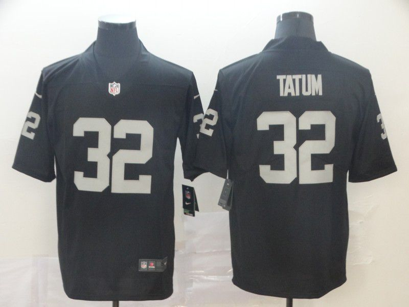 Men Oakland Raiders 32 Tatum Black Nike Vapor Untouchable Limited Player NFL Jerseys