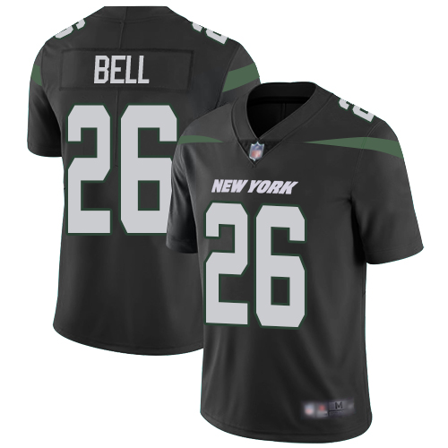 New York Jets Limited Black Youth LeVeon Bell Alternate Jersey NFL Football 26 Vapor Untouchable